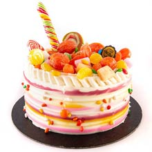 90s Kids Candy Crush One Kg Cake