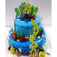 Aquarium Themed Cake AT3