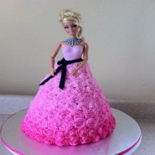 Rose Rosette Lady Cake DC8