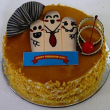 Butterscotch Friendship Day Cake