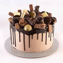 Chocolate Grab Over One Kg Cake