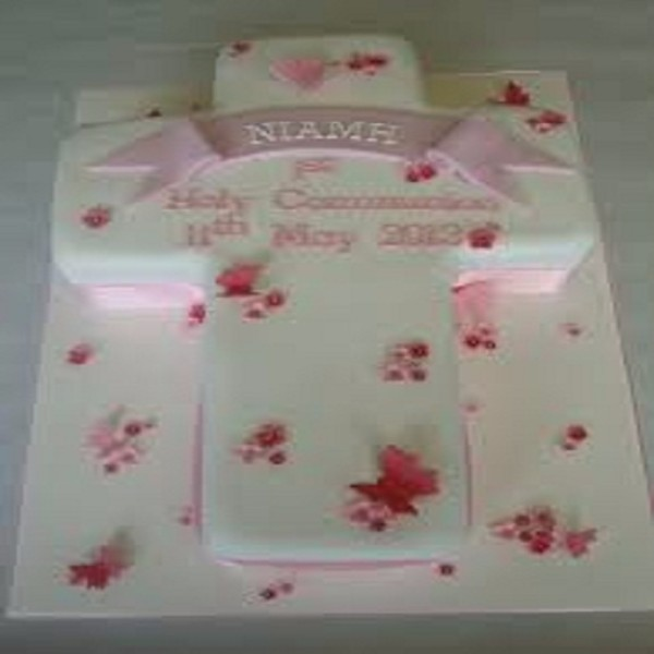 Baptism and Holy Communion Cake BH01