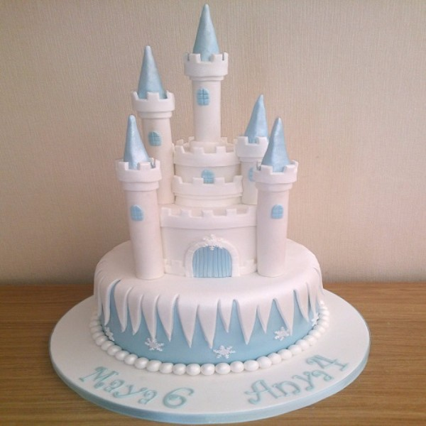 Buy Snow White Castle Cake Cc01 Online In Bangalore