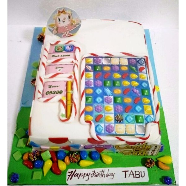 Candy Crush Cake CBS07